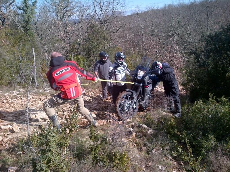 rando mixte 60/40 1er & 2 mars du Gard à Millau (boucle 450km) - Page 7 La_cal11