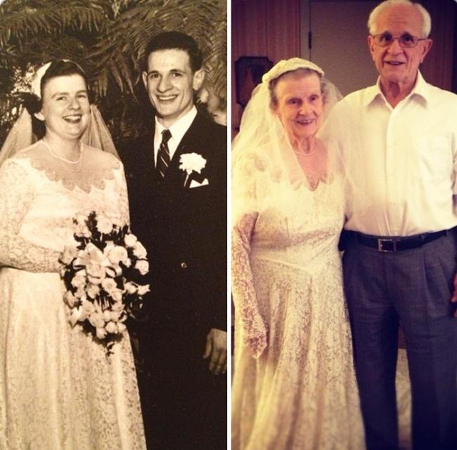 Le couple vieillit mais l'amour est resté intact ... Couple10