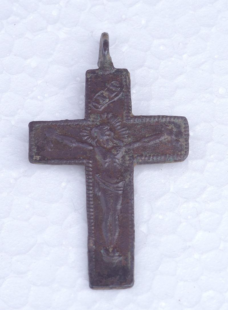 Jolie croix de mission XIX/XXème - avec arma christi  Arma410