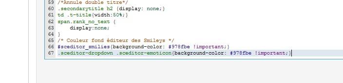 changer la couleur du cadre blanc pour la partie des smileys Code11