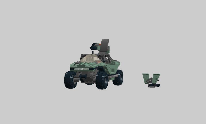 Warthog Halo 4 lego Wartho29