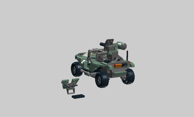 Warthog Halo 4 lego Wartho30