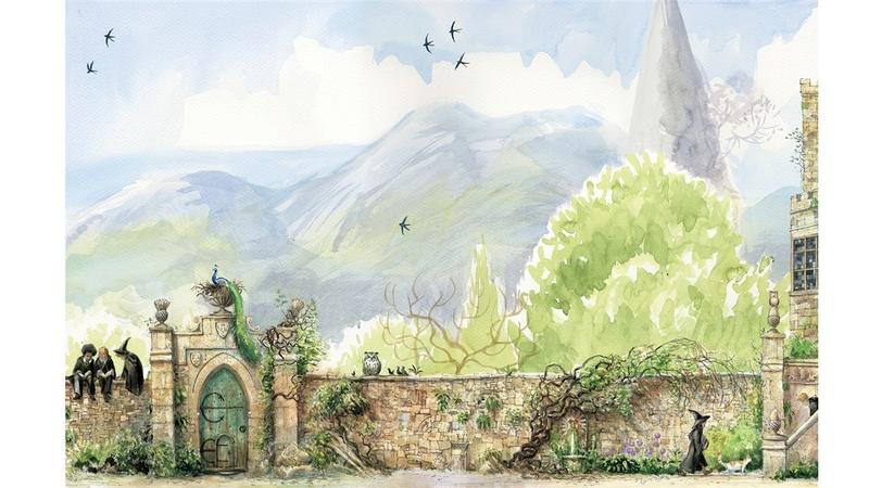 Réédition HP  :  un tome par an. - Page 15 Garden10