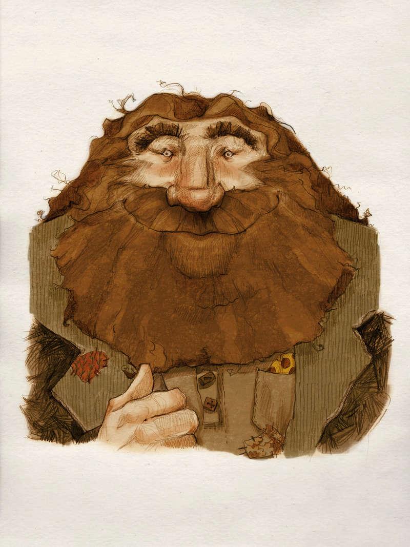 Jeu des dessins HP! ^^ - Page 5 Hagrid10