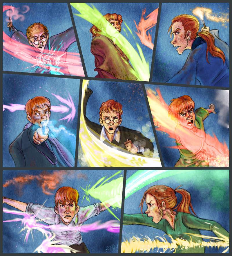 Jeu des dessins HP! ^^ - Page 6 Weasle11