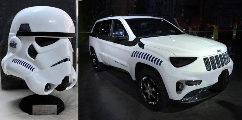 Jeep France  Star Wars  14590510