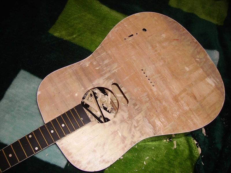 Fabrication d'une guitare à résonnateur Pict8819