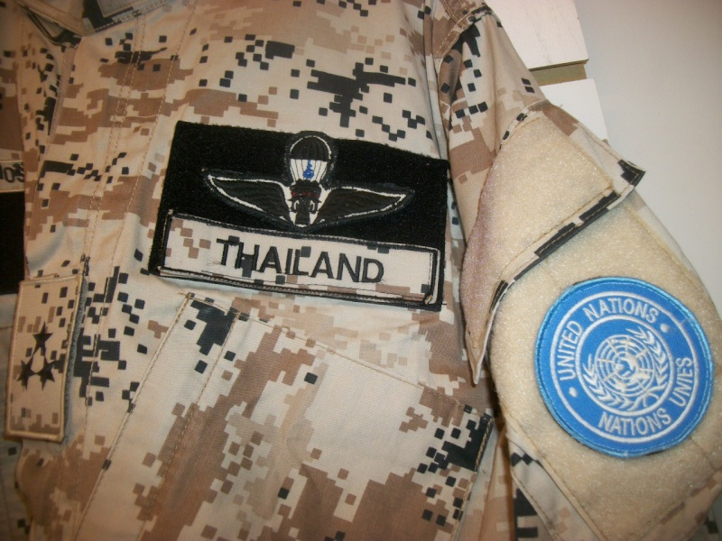 Thai Army Officer - UN in Sudan 101_3214