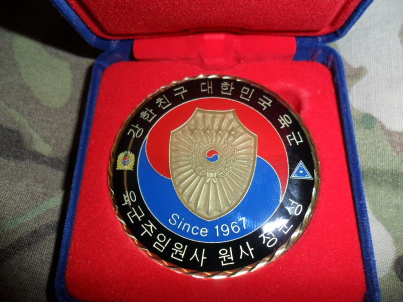 ROK  Sergeant Major of the Army  Challenge Coin Sam_3912