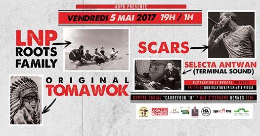 Animals Reggae Session 05 mai 2017 - Carrefour 18 - Rennes Affich10