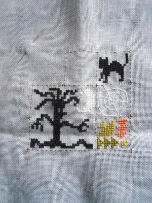 SAL Patchwork Halloween de Jardin Privé - FINI - Page 3 0211