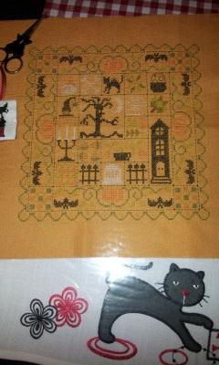 SAL Patchwork Halloween de Jardin Privé - FINI - Page 10 20140211