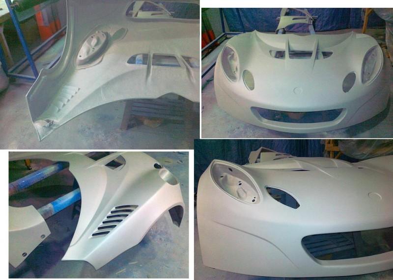 Exige GT3 Body Gr3310