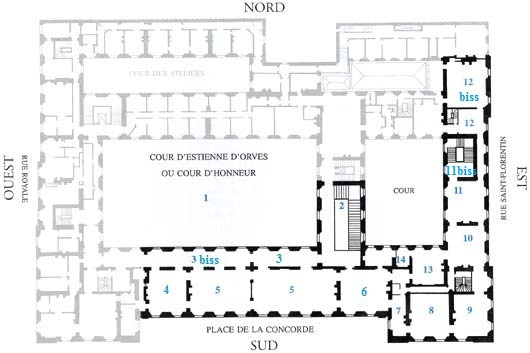 Le Garde Meuble Royal, actuel hôtel de la Marine Hm_00213
