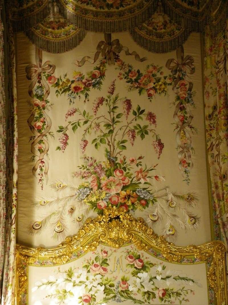 chambre - La chambre de la Reine à Versailles Imgp1610