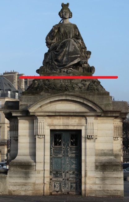 La place Louis XV, puis place de la Révolution, puis place de la Concorde au XVIIIe siècle Lille10