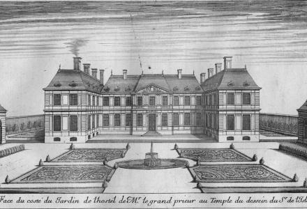 temple - L'Hôtel du Grand Prieur au Temple, chez le comte d'Artois Recher10