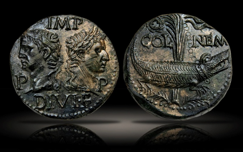 Dupondius de Nîmes de type 2 - Page 2 Ancien10