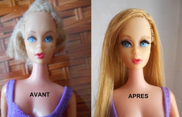 [PHOTOS] Restaurations de poupées Barbie10