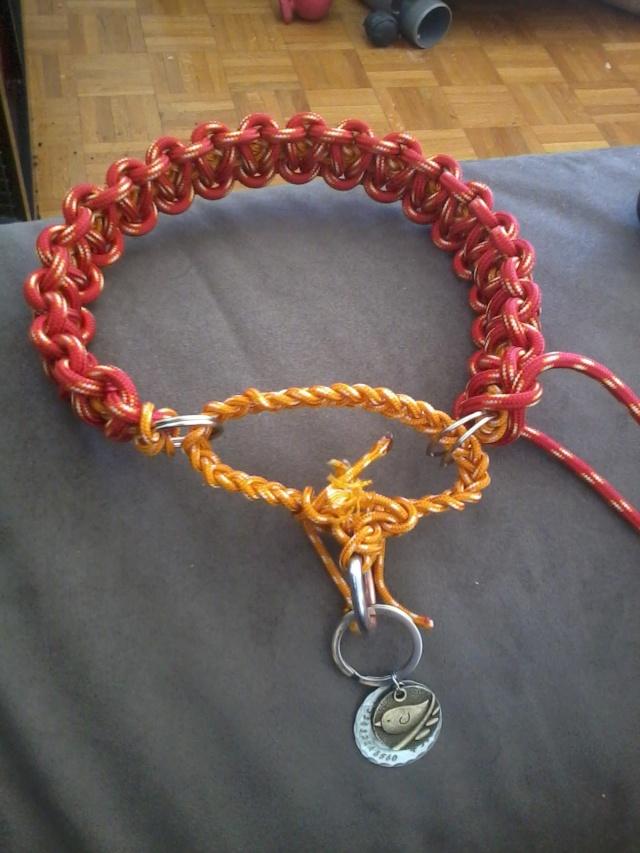 Fabriquer un collier en cordelette nouée (Paracorde) 2014-010