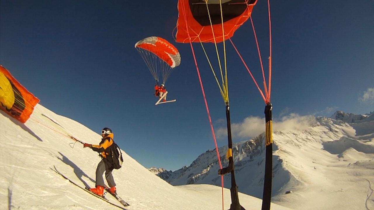 Speed-Kiting et Soaring à Chamonix Image130