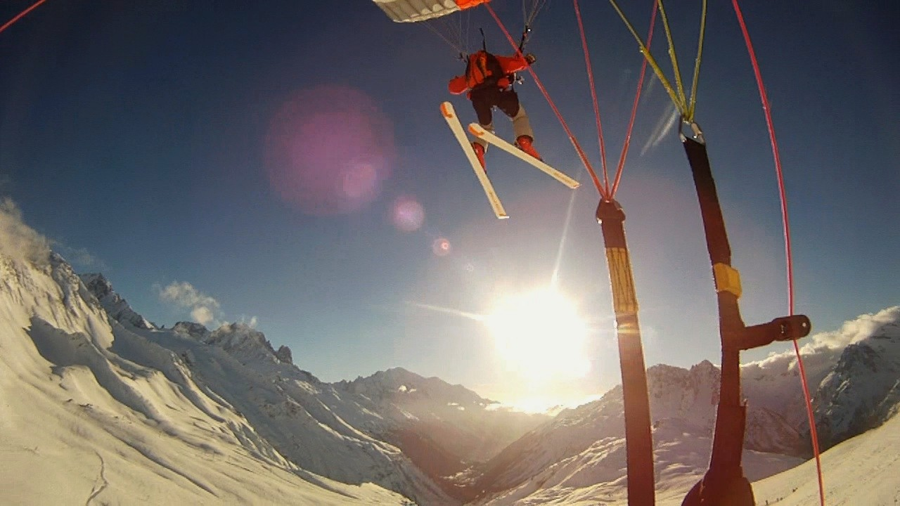 Speed-Kiting et Soaring à Chamonix Image131