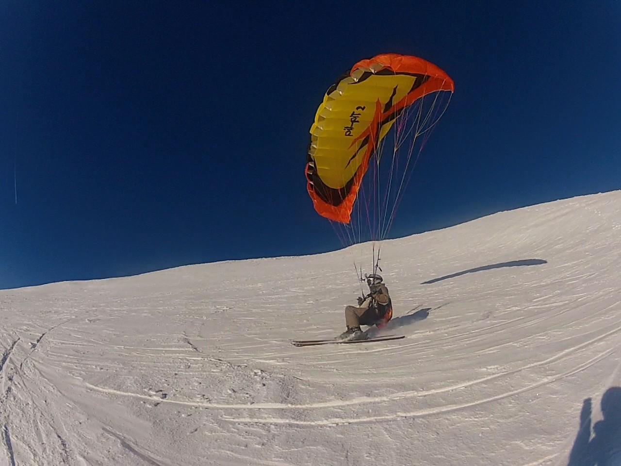 Speed-Kiting et Soaring à Chamonix Image132