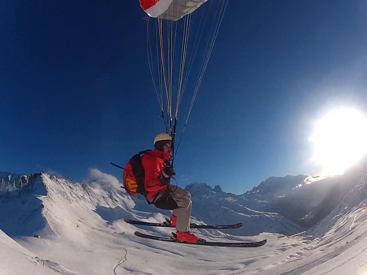 Speed-Kiting et Soaring à Chamonix Image133