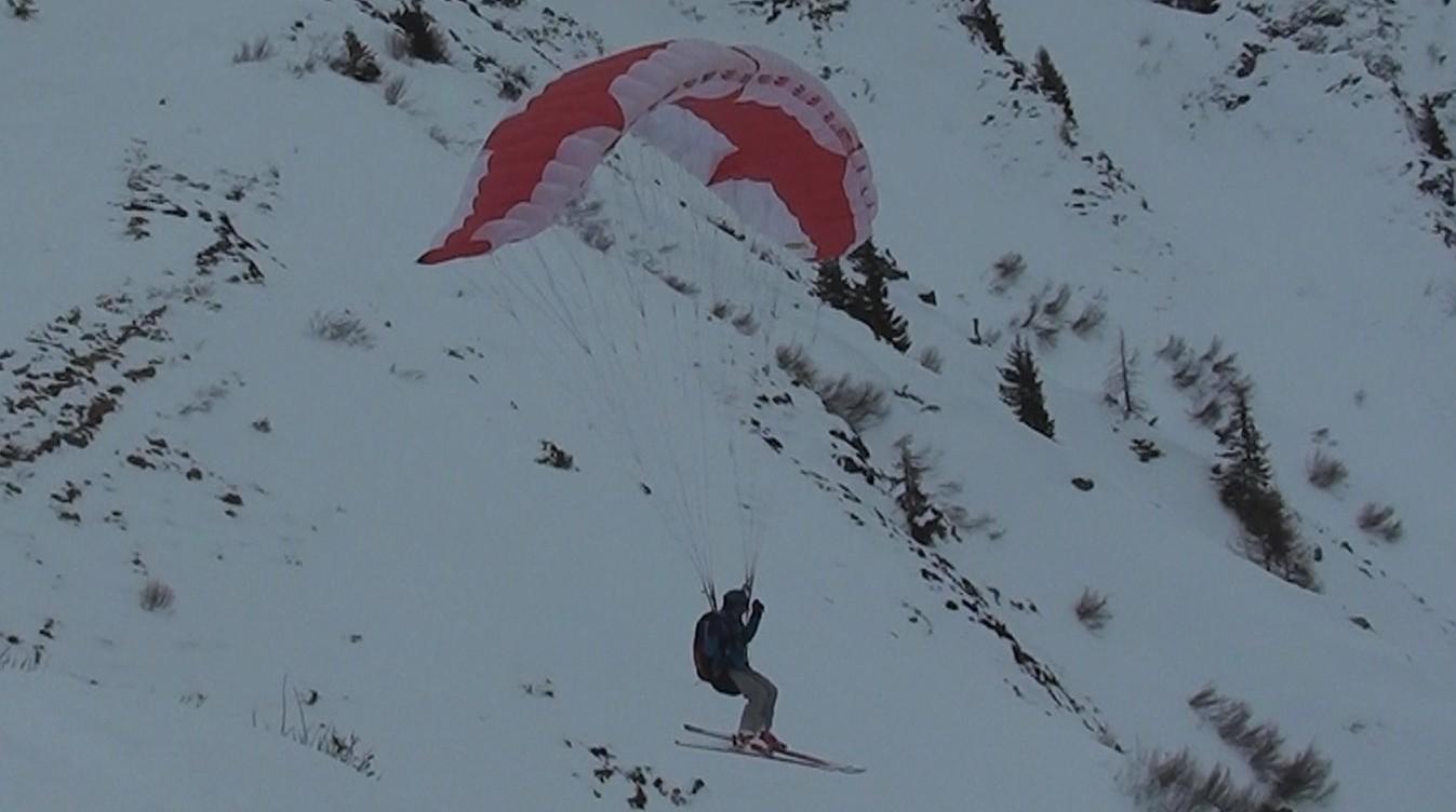 Speed Flying à Balme avec Adrien et Rémi Image317
