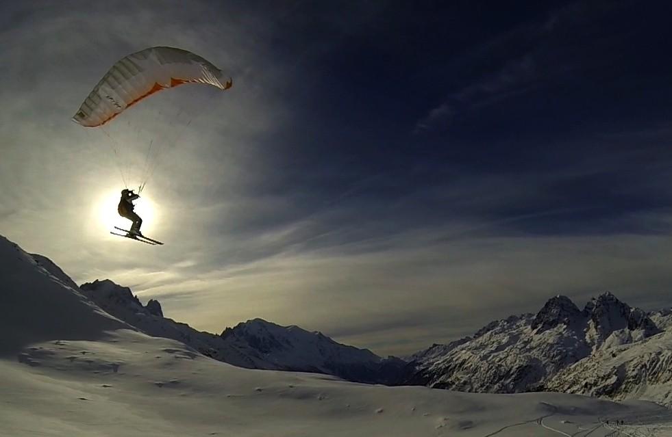 Speed Flying à Balme avec Adrien et Rémi Image613
