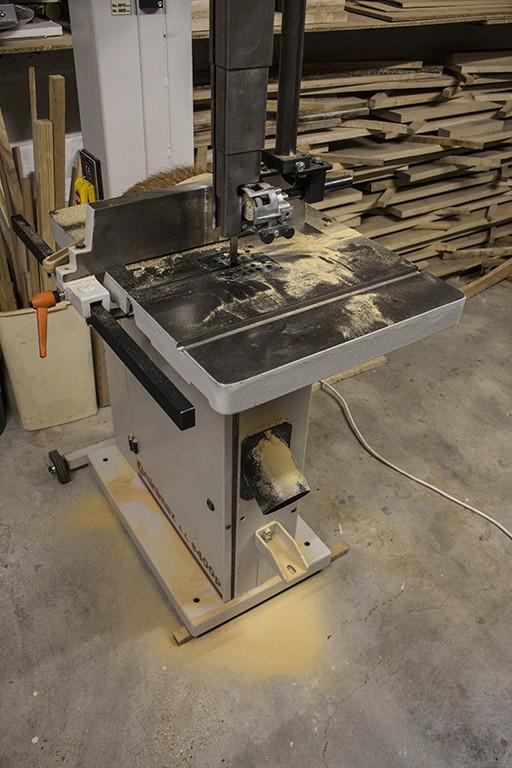 [Achat chez Marty… la « boite » est sérieuse] Une Minimax S 400 P dans l'atelier - Page 2 Sciure10