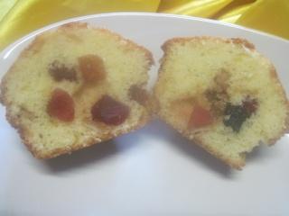 Muffins au yaourt aux fruits confits + photos. Img_1610