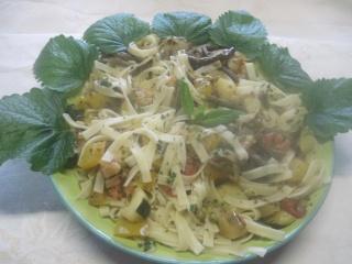 Nouilles aux restes de légumes variés + photos. Img_2314
