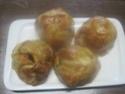 Pommes en chemises fourrées à la confiture d'abricots. photos. 10177910