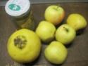 Compote de pommes et coing. photos.  15220910