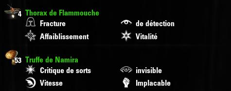 Guide d'alchimie : propriétés des composants courants Screen10