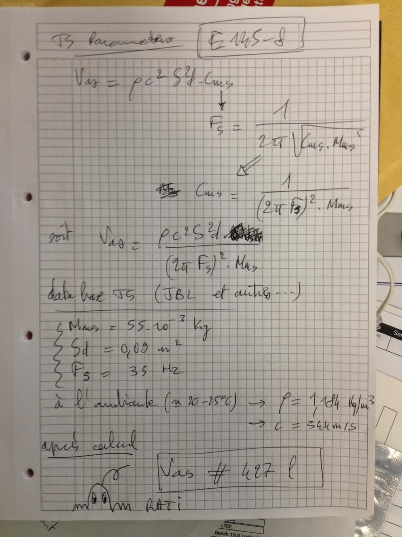Projet JBL EN-5: 3 voies, 38 + 2 pouces + tweeter. - Page 7 Img_2612