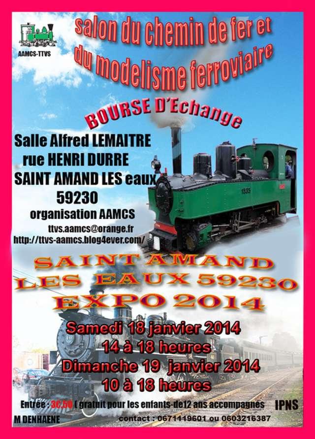 18 et 19 Janvier 2014 exposition à 59230 SAINT-AMAND LES EAUX. 1-sain10