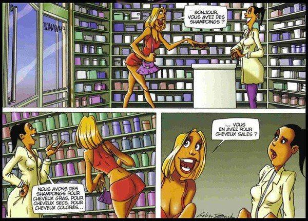 Série d'images amusantes - 12. Blonde23