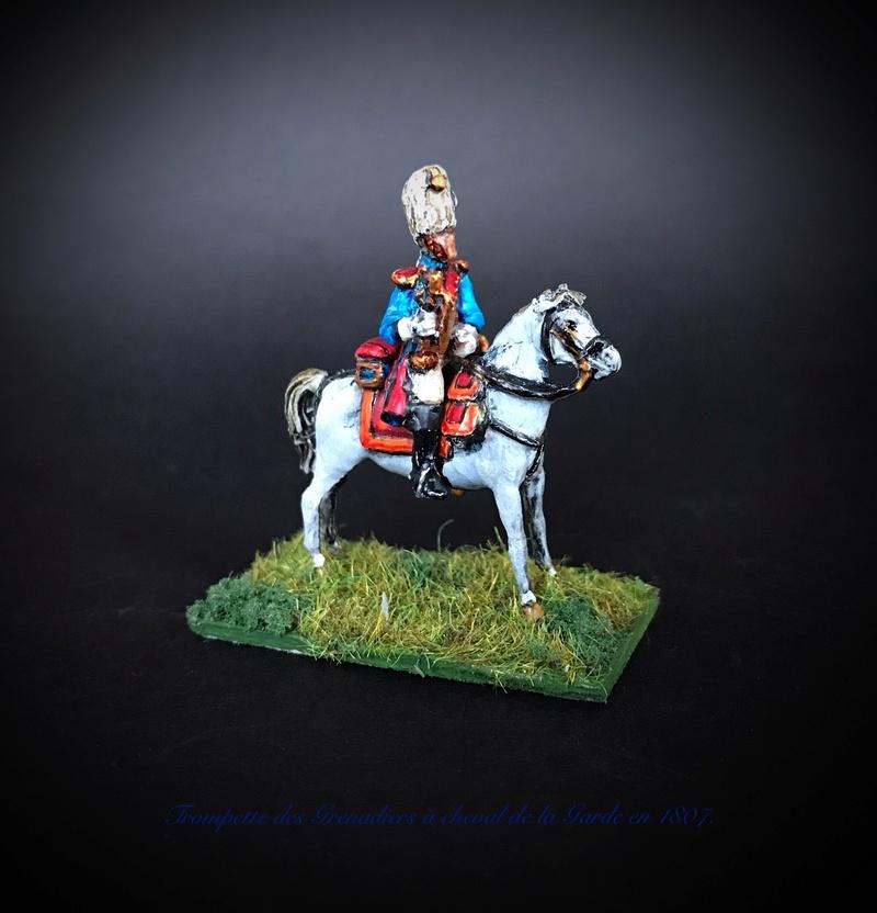 Colonel LEPIC [ NAPOLÉONFIGURINES ] + Grenadiers à cheval de la Garde [ HÄT 8013 ] au 1/72°. Image232