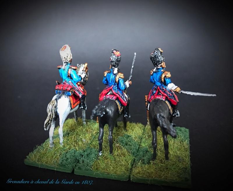 Colonel LEPIC [ NAPOLÉONFIGURINES ] + Grenadiers à cheval de la Garde [ HÄT 8013 ] au 1/72°. Image234