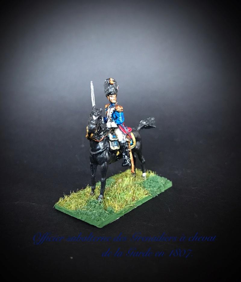 Colonel LEPIC [ NAPOLÉONFIGURINES ] + Grenadiers à cheval de la Garde [ HÄT 8013 ] au 1/72°. Image235