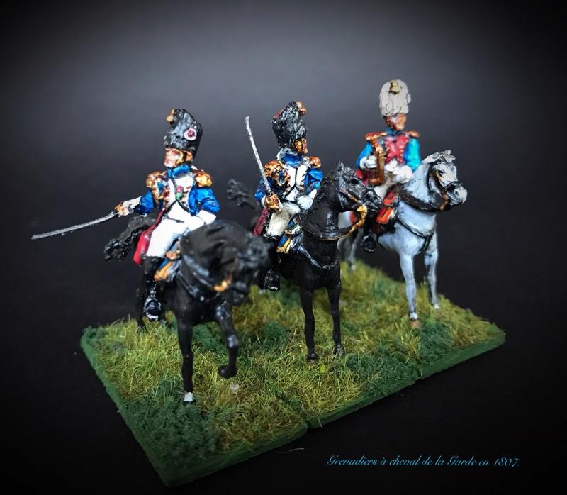 Colonel LEPIC [ NAPOLÉONFIGURINES ] + Grenadiers à cheval de la Garde [ HÄT 8013 ] au 1/72°. Image236