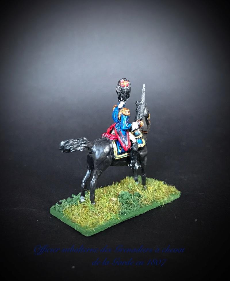 Colonel LEPIC [ NAPOLÉONFIGURINES ] + Grenadiers à cheval de la Garde [ HÄT 8013 ] au 1/72°. Image237