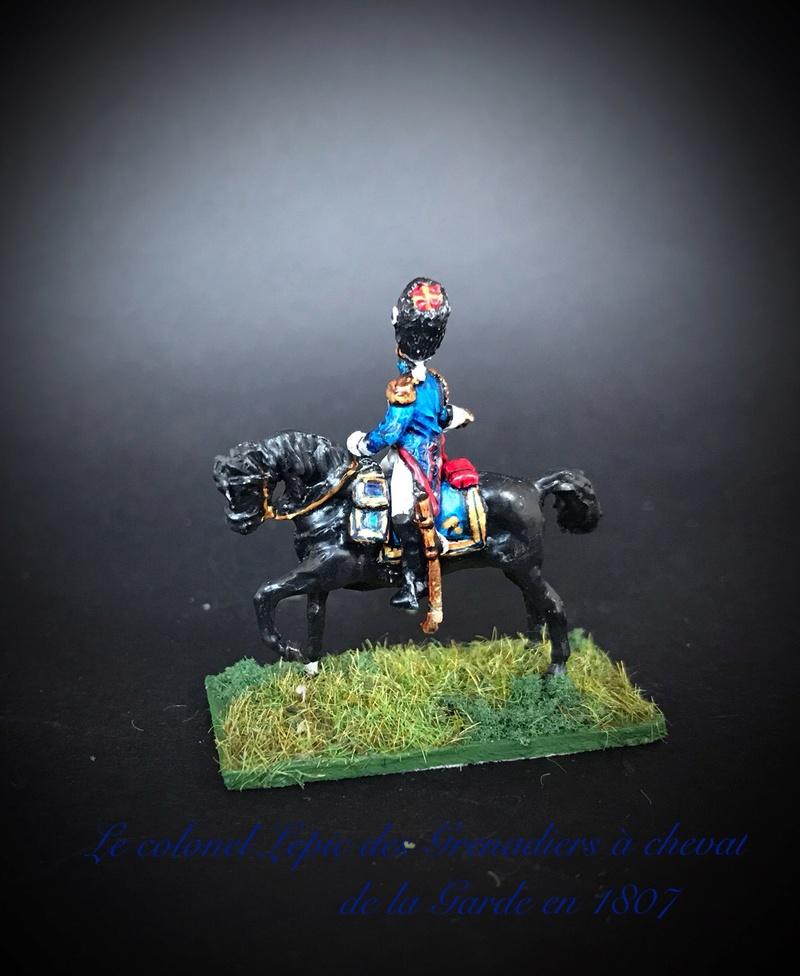 Colonel LEPIC [ NAPOLÉONFIGURINES ] + Grenadiers à cheval de la Garde [ HÄT 8013 ] au 1/72°. Image238