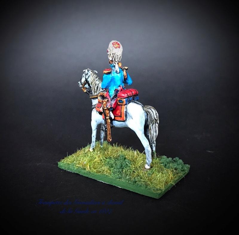 Colonel LEPIC [ NAPOLÉONFIGURINES ] + Grenadiers à cheval de la Garde [ HÄT 8013 ] au 1/72°. Image240