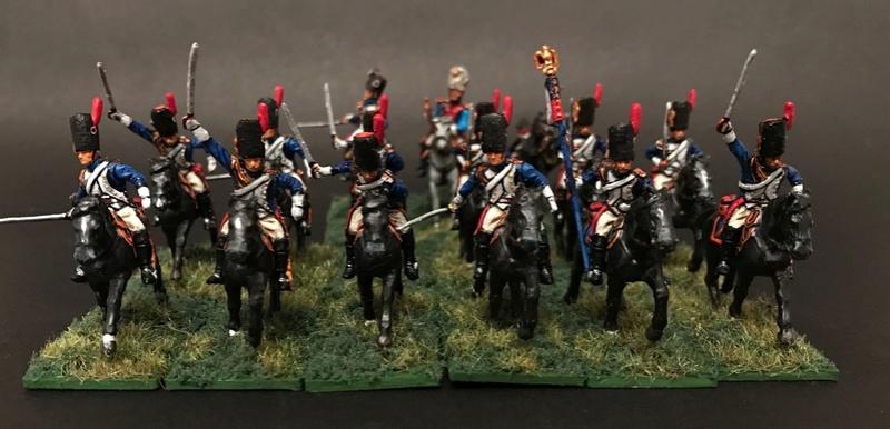 Colonel LEPIC [ NAPOLÉONFIGURINES ] + Grenadiers à cheval de la Garde [ HÄT 8013 ] au 1/72°. Image241