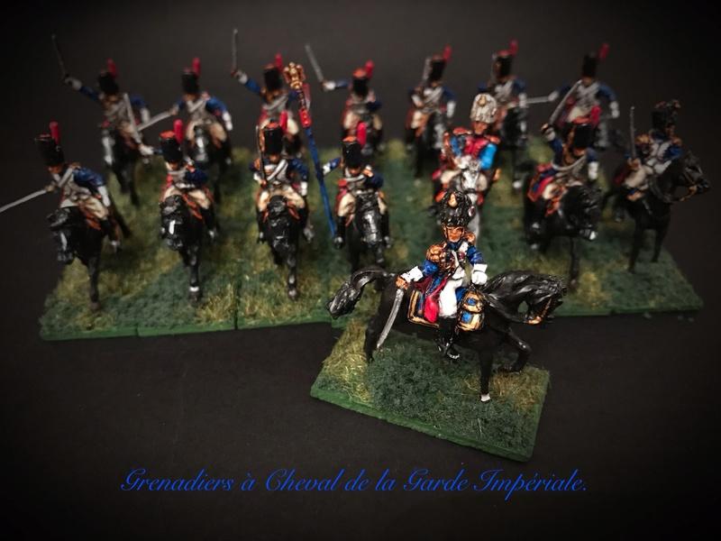 Colonel LEPIC [ NAPOLÉONFIGURINES ] + Grenadiers à cheval de la Garde [ HÄT 8013 ] au 1/72°. Image244