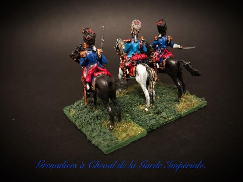 Colonel LEPIC [ NAPOLÉONFIGURINES ] + Grenadiers à cheval de la Garde [ HÄT 8013 ] au 1/72°. Image245