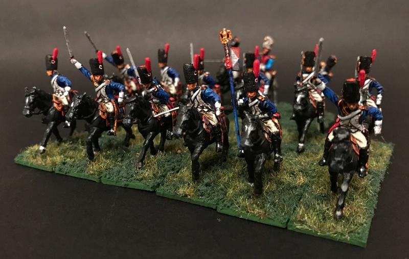 Colonel LEPIC [ NAPOLÉONFIGURINES ] + Grenadiers à cheval de la Garde [ HÄT 8013 ] au 1/72°. Image249